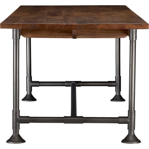 hearty table 36x104.  This would be easy to make.