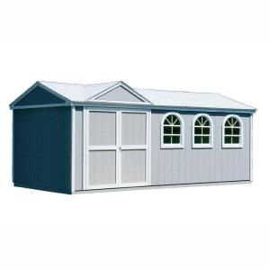 Handy Home Products Somerset 10 ft. x 18 ft. Wood Storage Building Kit-18416-1 at The Home Depot
