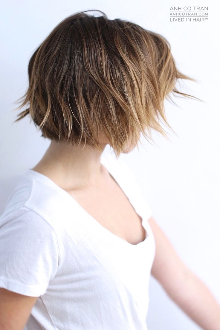 SOPHIA BUSH // LIVED IN HAIR  BEFORE & AFTER. Cut/Style: Anh Co Tran • IG…