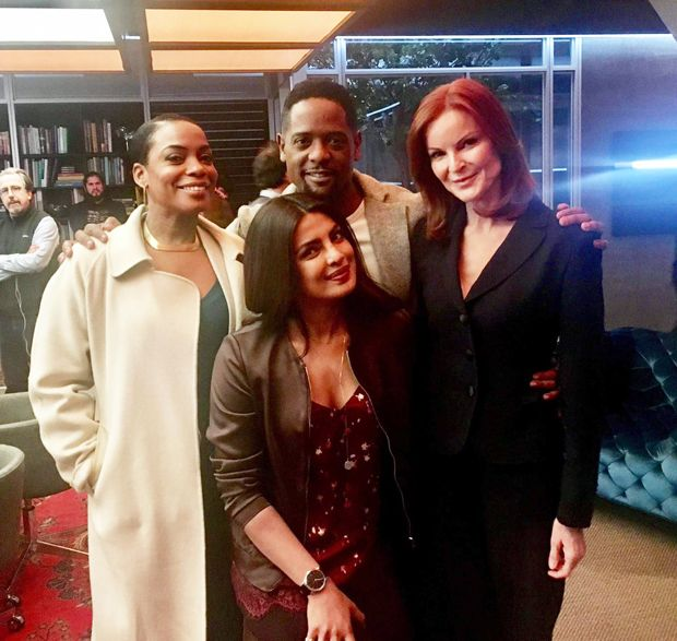 Watch Priyanka Chopra shows off her goofy side in this boomerang video with Quantico cast features