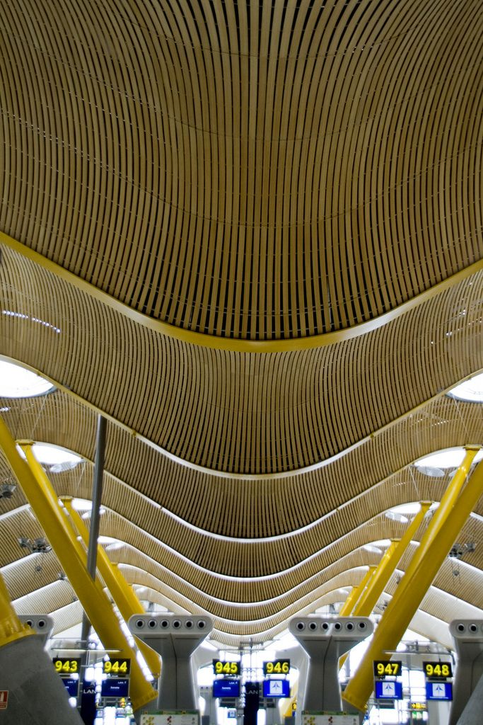 Barajas Airport by Richard Rogers