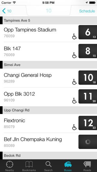 SG Buses - Singapore Public Bus Guide with Bus Arrival Time by SG NextBus Pte. Ltd.