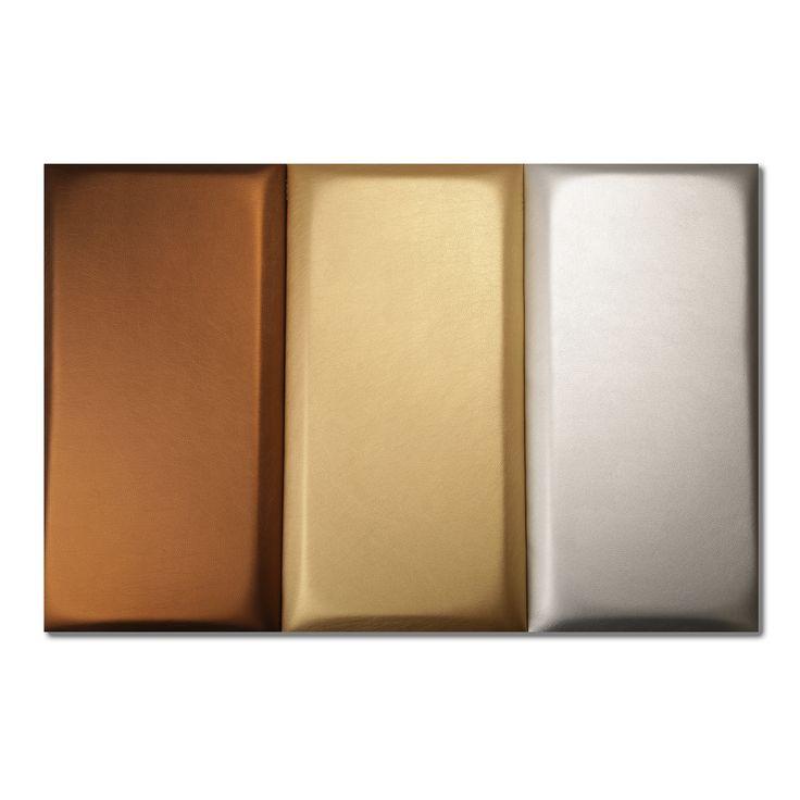 GOLD DROPS DESIGN FALPANEL FÉM SZÍNEK-  30cm  x 60cm
