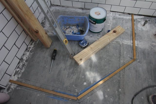 How To Build A Custom Tiled Shower Pan Custom Shower Pan