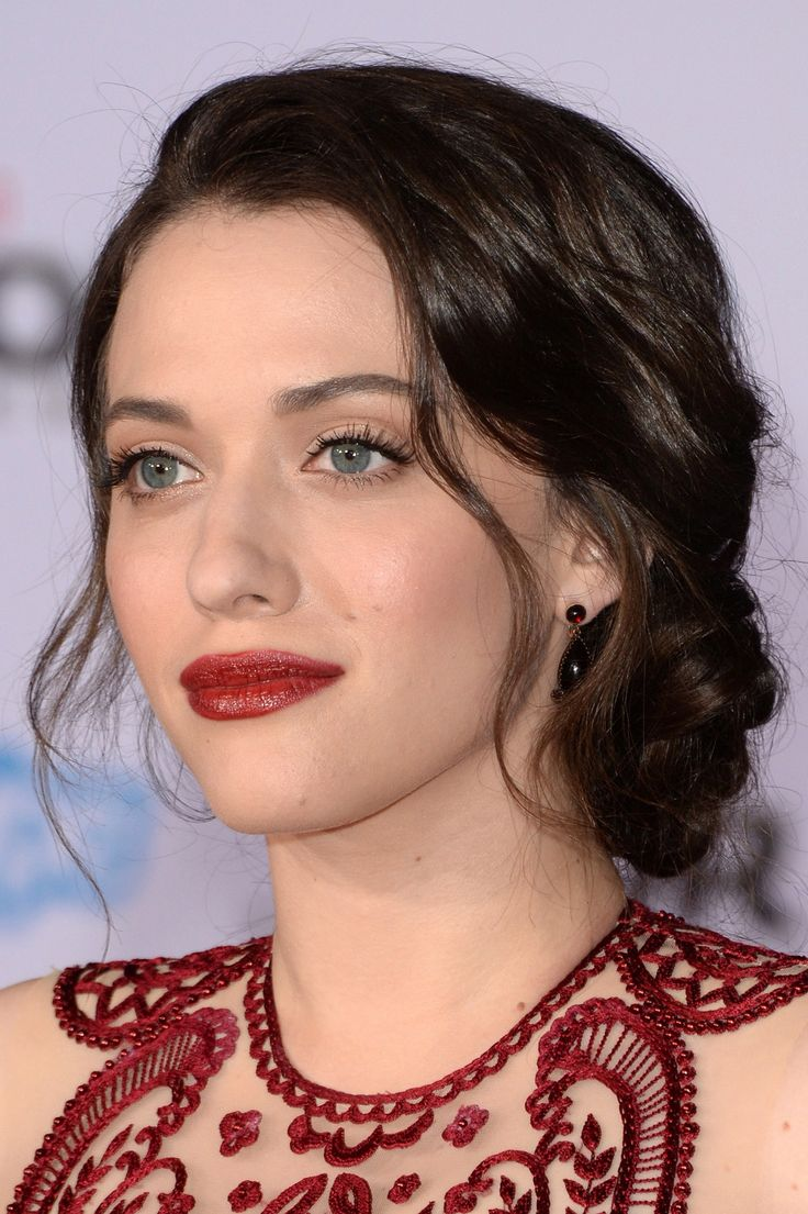 Kat Dennings Fall Wedding Hairstyles Kat Dennings Celebrity Hair Stylist