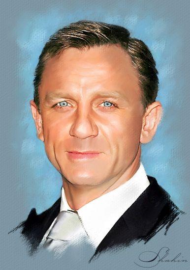 Daniel Craig by shahin