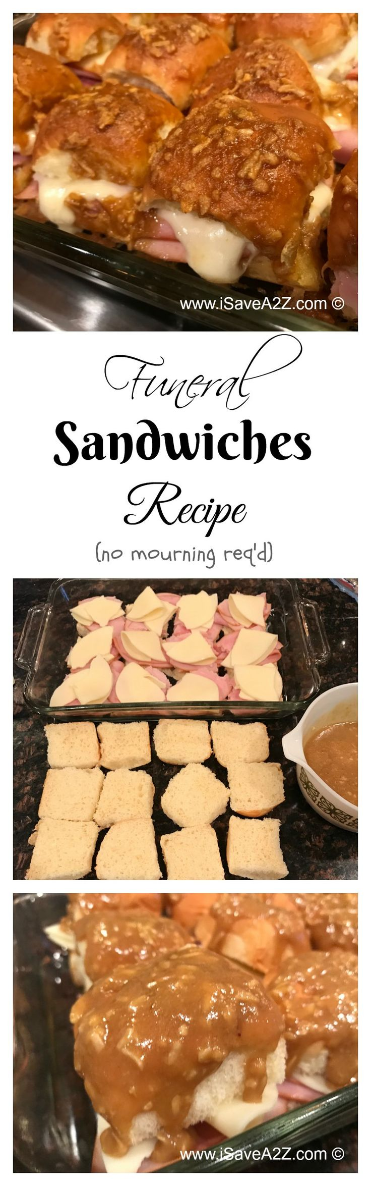 Funeral Sandwiches Recipe:  Fun Recipe with No Mourning Required