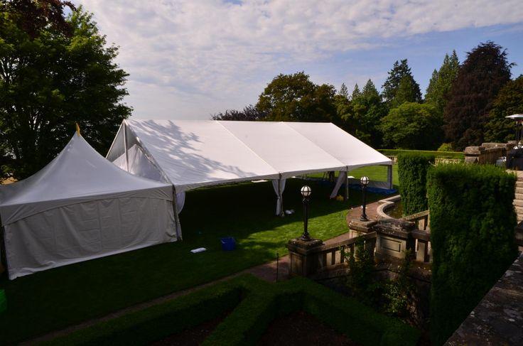 Gable Tent 40x60/Black & White Party Rentals Parksville BC/Vancouver Island Weddings#vanisleweddings