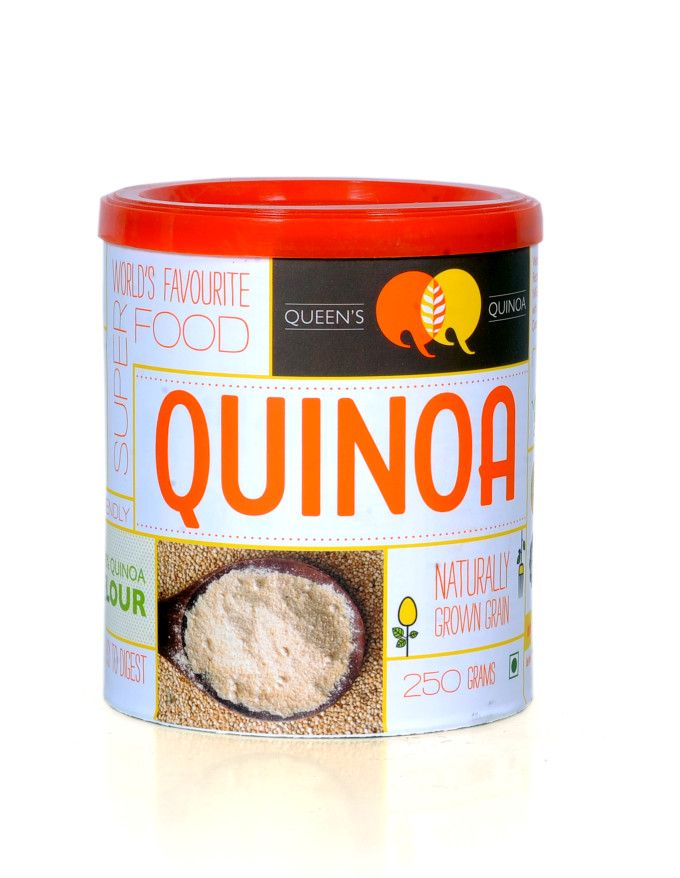 We are proud to introduce you Queens Quinoa 100% Flour-250gm by Queens Quinoa,which is known for making available high-quality, Saponin-free Quinoa in easy-to-store packaging.