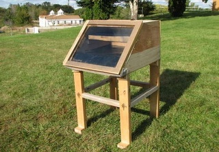 Build a Simple Solar Food Dehydrator for Chemical-Free Food Preservation Don't pay a premium to buy pre-dehydrated food. Dehydrate your own with this simple dehydrator made from scrap lumber.