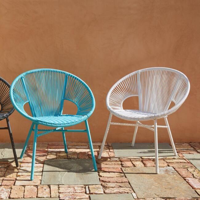 Round All Weather Wicker Camden Outdoor Chair Restoration