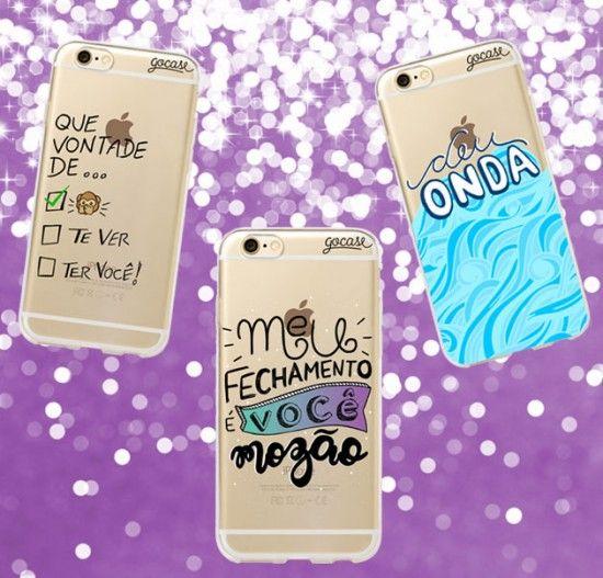 """Trechos do funk """"Deu Onda"""" agora nas capinhas da Gocase (de R$ 49,90 a R$ 59,90 cada, dependendo do modelo do celular). Clica pra ver mais!"""