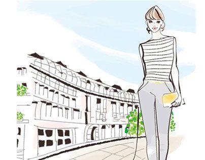 "Check out new work on my @Behance portfolio: ""Takako Illust ""walking"""" http://be.net/gallery/58113969/Takako-Illust-walking"