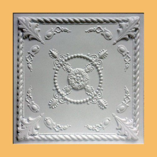 24x24 Home Addition: 30pc Of Jewel White 24x24 PVC 20 Mil Ceiling Tiles Covers