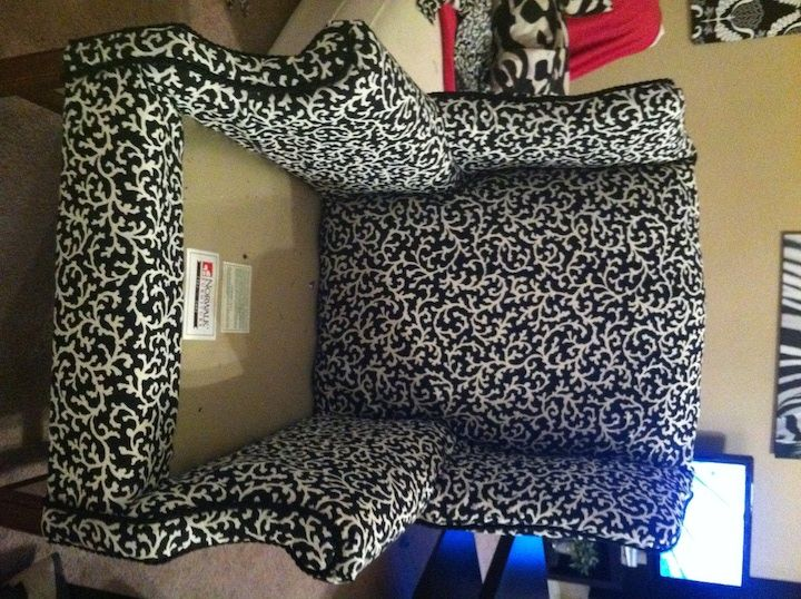 1000 ideas about reupholster furniture on pinterest for How to reupholster furniture diy