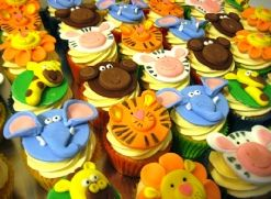 animal cupcakes jungle cupcakes