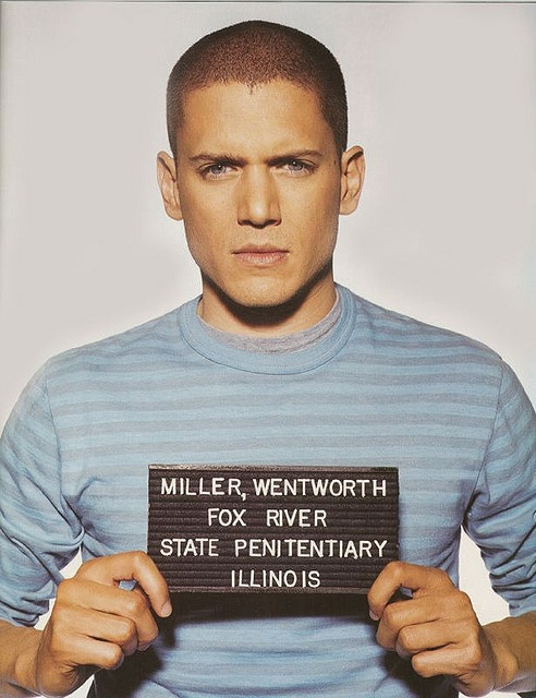 Wentworth Miller from Prison Break