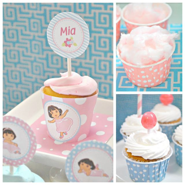 girly-dora-the-explorer-party-pastel-birthday-ideas-decorations-cake