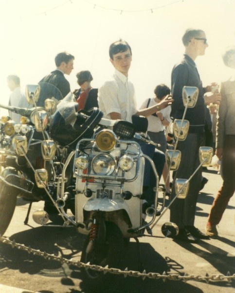 Mods & scooters - England 1960s