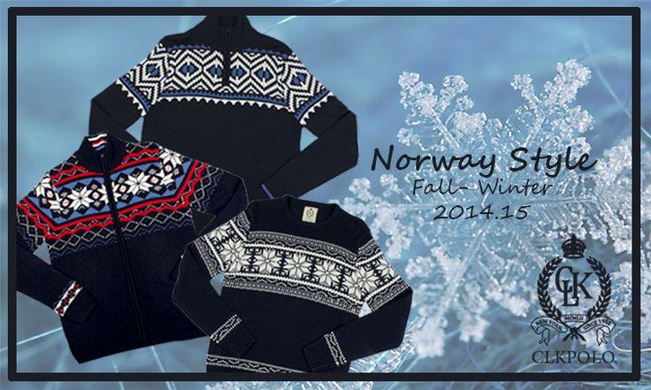 Aporta un toque nórdico a tu armario con estas prendas tan calentitas de CLKPolo ¿Que os parecen?