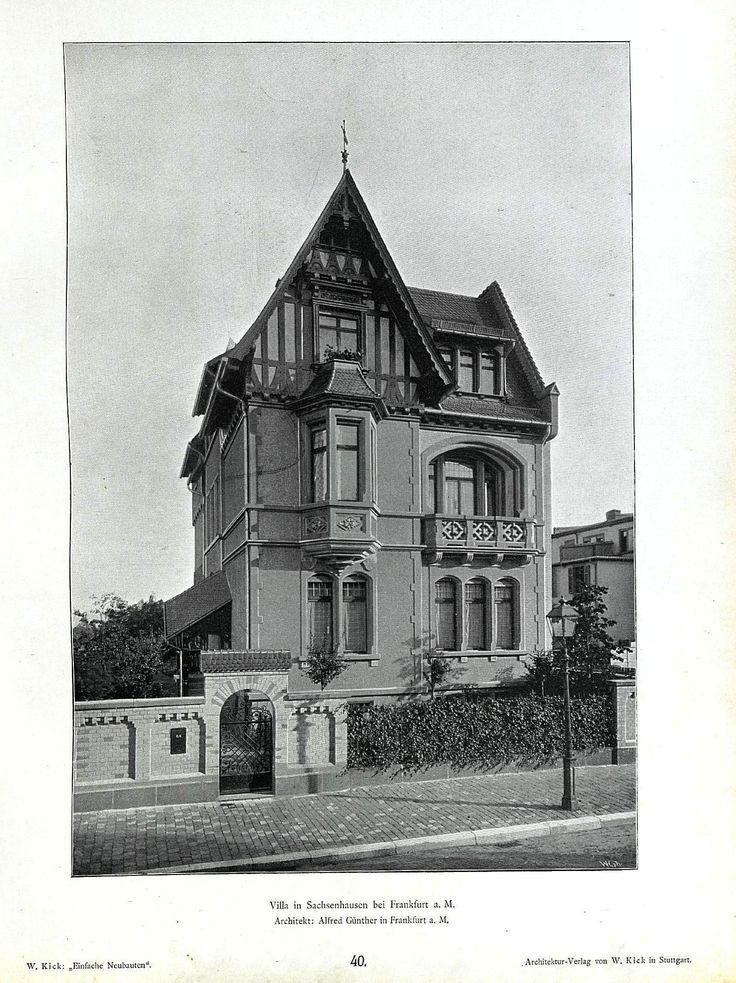 wilhelm kick einfache neubauten stuttgart 1890 villa in. Black Bedroom Furniture Sets. Home Design Ideas