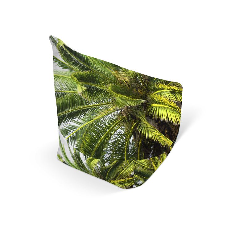 A beach tropical accent for your game and entertainment room settings, this stylish bean bag chair ...