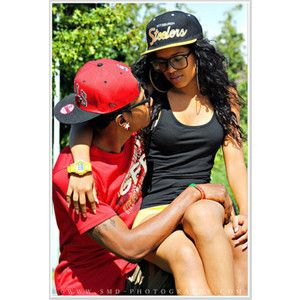 Swagged Out Couples | black couple | Tumblr
