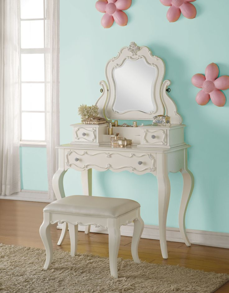 edalene pearl white vanity mirror 30516 pearl igloo - Makeup Eitelkeit Beleuchtung Ikea