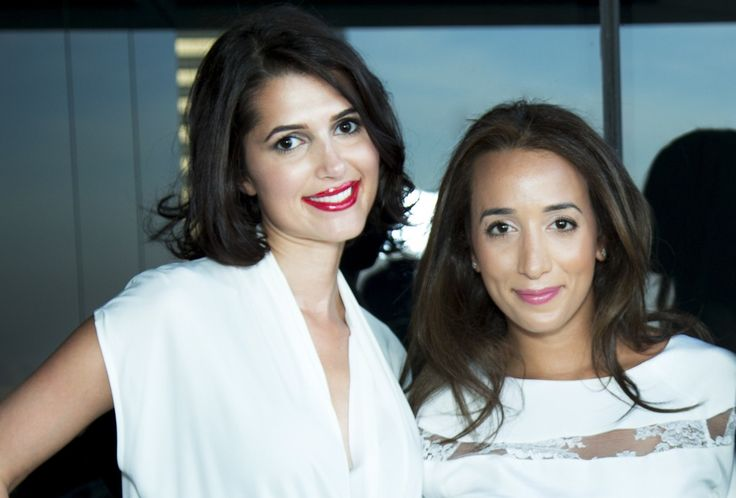 Affordable #couture for hire at Dubai's Designer-24.com Rebecca McLaughlin-Duane, June 22, 2014 Sara Alemzadeh (left) and Ranya Khalil-Aghamardi, of #Designer 24. Courtesy: Designer 24 Designed by #AyeshaDepala, #lace #taffeta #gown, retails for Dh12,000, rental for Dh1,800 for four days.   #Fashion #Fashionista #HauteCouture