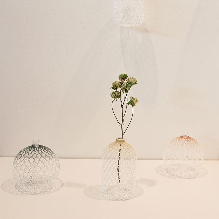 Tint flower vases by Shinya Yoshida Design at SaloneSatellite