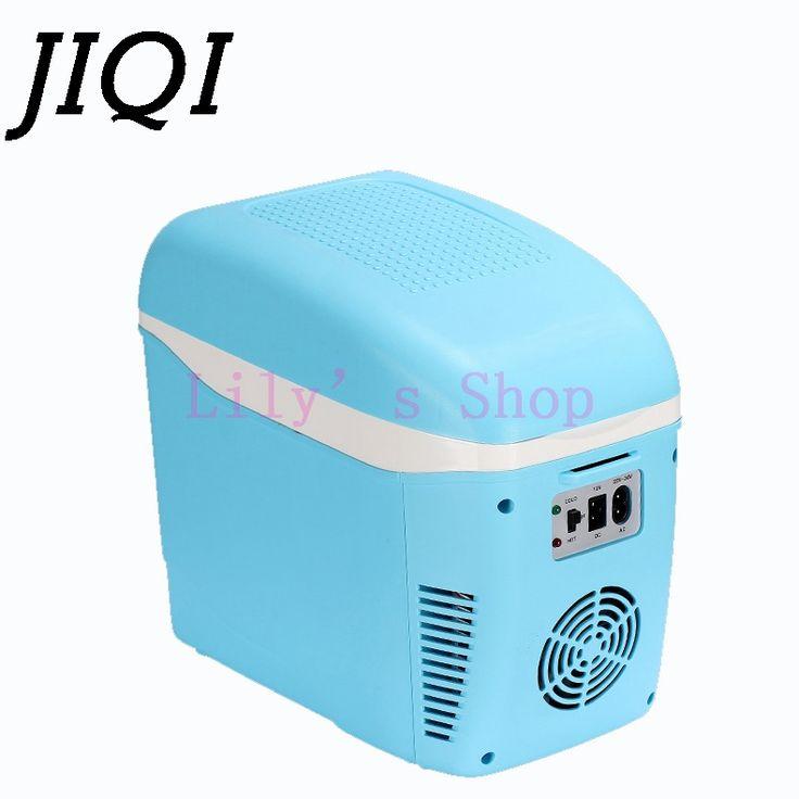 Mini Buzdolabı Taşınabilir Araba ev Buzdolabı oto Seyahat İçecek Kapları Soğutucu Kutusu ev Dondurucu Isıtıcı 7.5L 12 V 220-240 V AB