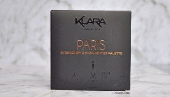Review: Klara Paris Rose Gold Eyeshadow and Highlighter Palette