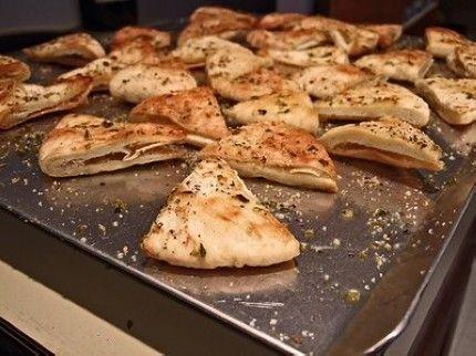 My favorite Snack only 2 WW pts Garlic Pita Chips and Salsa YUMMY!!!