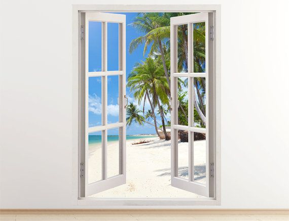 Window Wall Art top 25+ best coconut palm tree ideas on pinterest | weird trees