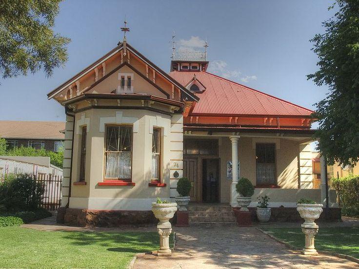 74 Lombard Street, Potchefstroom (new street name: James Moroka Ave) Type of site: Residence.