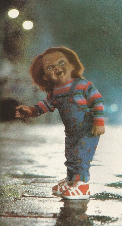 Hello, I'm Chucky Wanna Play  O-O Hell NO!! The first one Really got me!! the rest not so much!