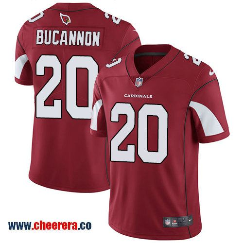 Nike Arizona Cardinals #20 Deone Bucannon Red Team Color Men's Stitched NFL Vapor Untouchable Limited Jersey