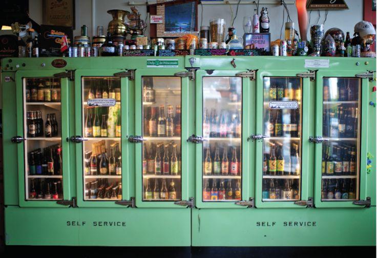 Old fridges, display idea