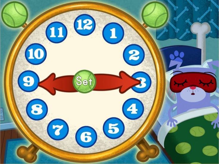 Time Telling Game for 2nd Grade Students - Brainzy Math Games for Kids