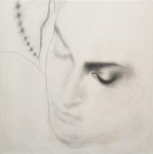 OMAR GALLIANI http://www.widewalls.ch/artist/omar-galliani/ #painting