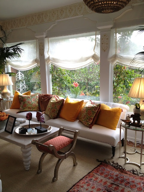 Sun room window treatments windows and their dressings for Window covering ideas for sunrooms