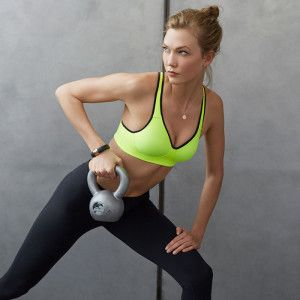 Karlie Kloss, working out, workout clothes, fitness clothes, gym clothes.