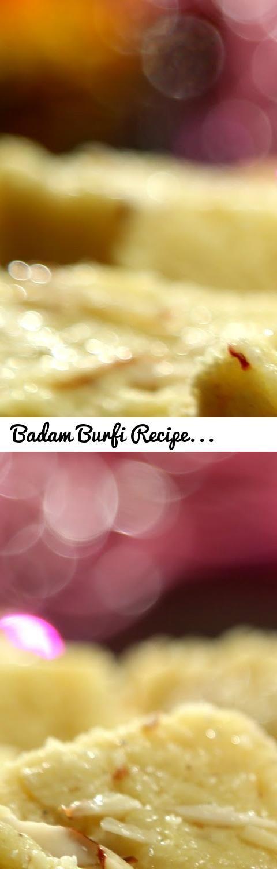 Badam Burfi Recipe   Diwali Special - Indian Sweet Recipe   Ruchi's Kitchen... Tags: barfi, burfi, badam barfi by nisha madhulika, badam burfi by sanjeev kapoor, badam burfi by vahchef, almond (food), badam katli recipe video, barfi (food), indian, badam katli recipe, badam burfi recipe, badam burfi, recipes, restaurant, mallika badrinath recipes, cooking, shruthiskitchen, sruthiskitchen, shruthi, shruti, sruthi, south asian sweets, punjab india, navratri recipes, navratri special recipes…