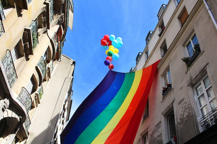 Le Marais has become a centre of LGBT culture in Paris. Click for more sights to see and places to go in Le Marais.