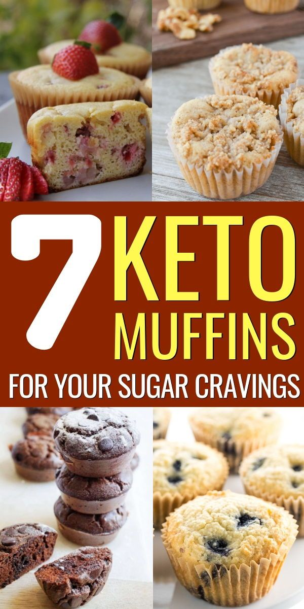 The 7 Best Keto Muffins For A Sweet Keto Snack Keto Muffin Recipe Keto Dessert Recipes Keto Recipes Breakfast