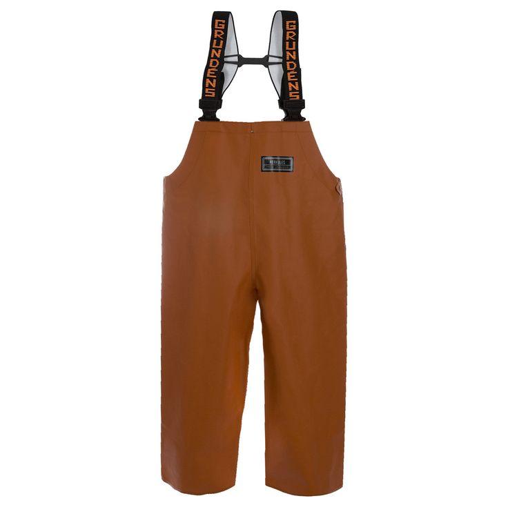 Grundens - Herkules 16 Bib Pant-Orange