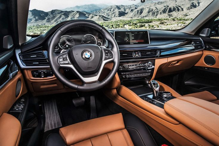 All-New 2015 BMW X6 Such a attractive cockpit ✊