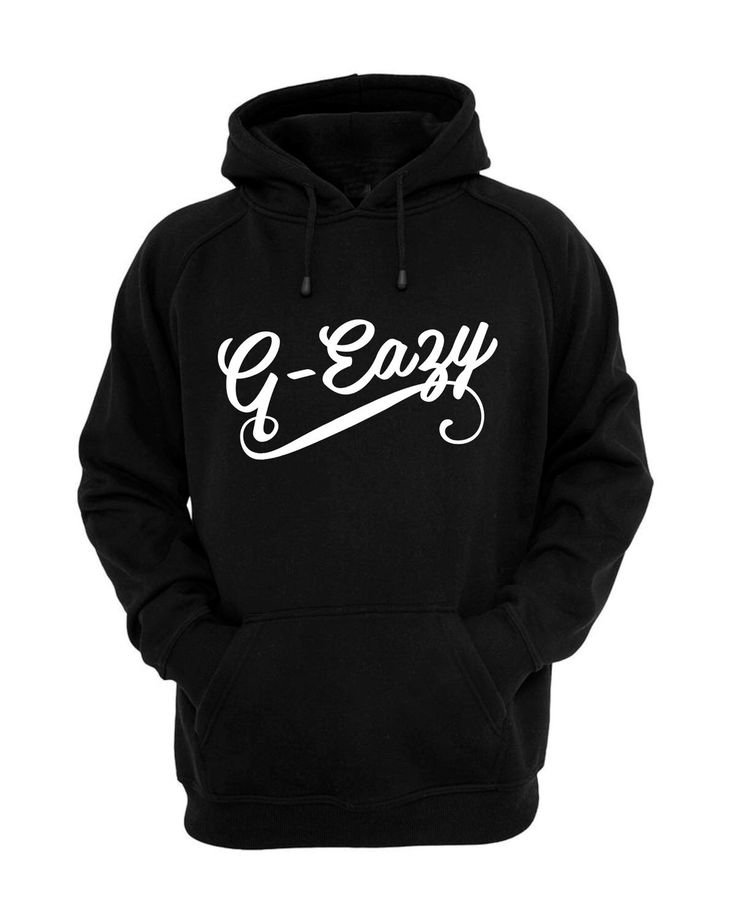 A personal favorite from my Etsy shop https://www.etsy.com/listing/270936898/g-eazy-hoodie