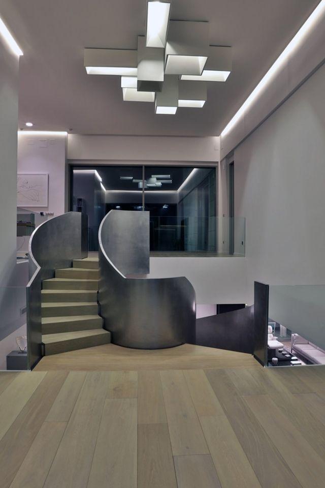 The Memory House, a modern mansion in La Moraleja near Los Altos del Golf course in far northern Madrid, Spain