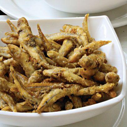 Crispy Fried Whitebait: Recipe